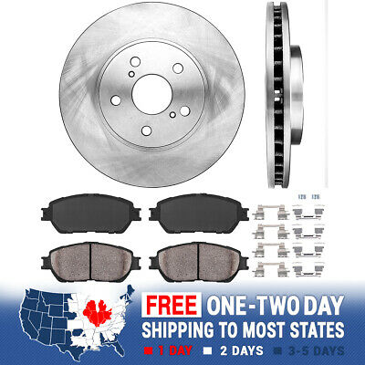 Front D906 Ceramic Pads 2004 2005 2006 2007 2008 2009 2010 TOYOTA SIENNA