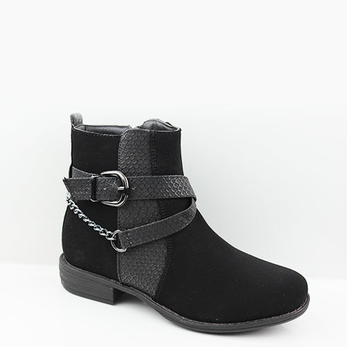 WOMENS CHELSEA STYLE MID HIGH BLOCK HEEL ANKLE BOOTS LADIES SHOES NEW SIZE 3-8
