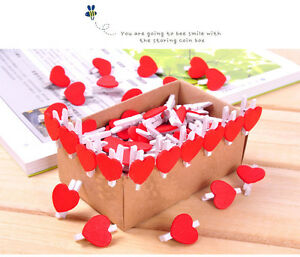 Adorable-20-Pcs-Mini-Wooden-Red-Peach-Pegs-Photo-Paper-Clips-Decor-Craft-Hot