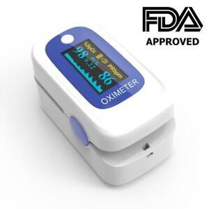 Portable Fingertip Pulse Oximeter, FDA Certified, Blood Oxygen Saturation Monitor, SpO2 Counter Body Health Monitor Toronto (GTA) Preview