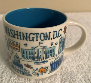 STARBUCKS MUG WASHINGTON D.C. - BEEN THERE SERIES ACROSS THE GLOBE COLLECTION