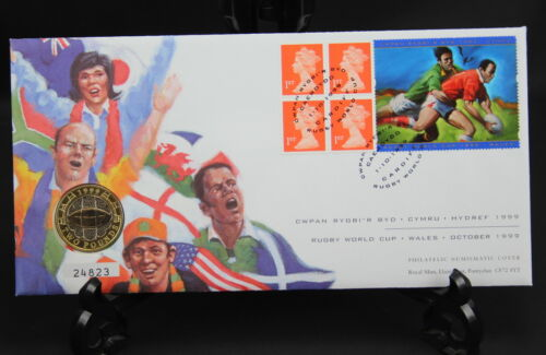 Comm Games 2002 DNA Various £2 Numismatic Covers Coins BU King James/' Bible