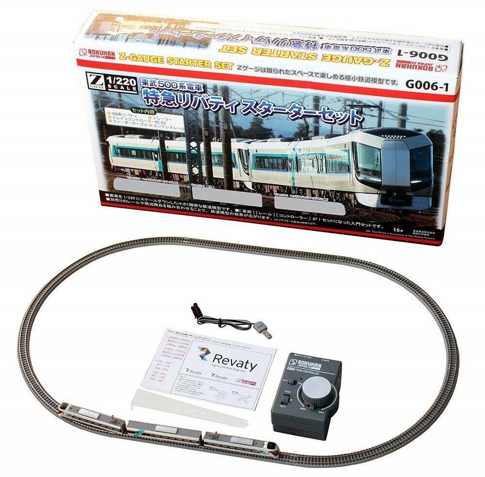 Rokuhan Z Escala - G006-1 Tobu 500 Series Tren Liberty Lanzamiento