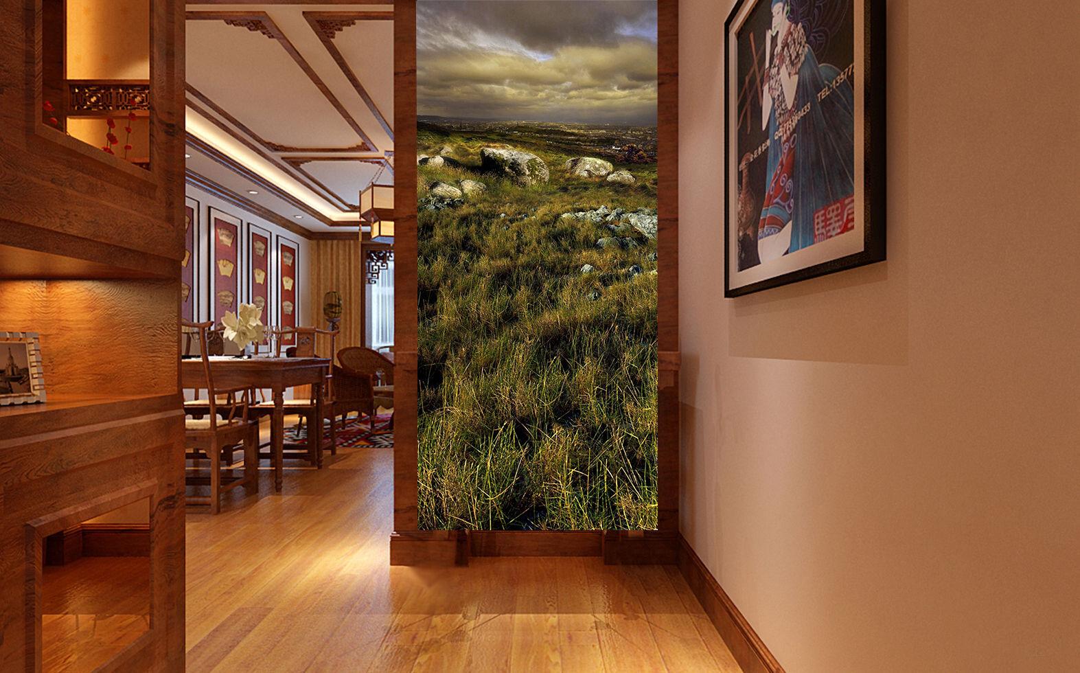 3D Désherber 22 Photo Papier Peint en Autocollant Murale Plafond Chambre Art