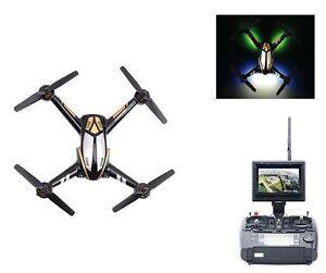 FPV-Race-Drohne-X252-3D-250class-inkl-Monitor-5-8-GHz-Komplettset-weiss-NEU