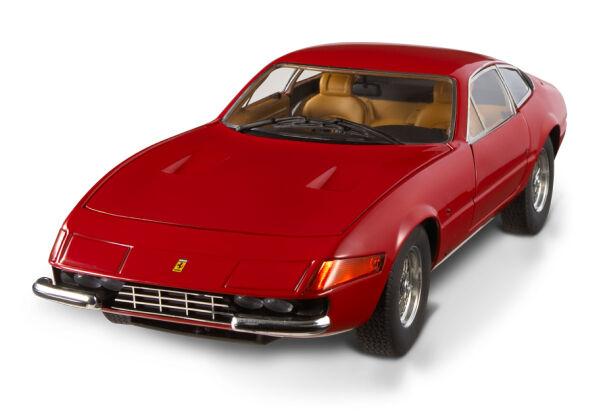 Ferrari 365 GTB-4 Daytona Coupe Rojo Por Hot Wheels Elite  Nuevo en Caja Dañada