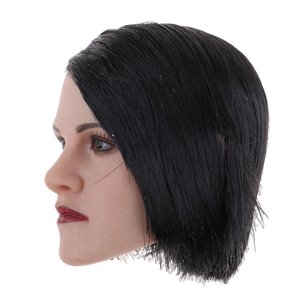 1 6 Escala Escultura de cabeza maniquí de PVC para 12 Pulgadas Figuras De Acción cuerpo femenino