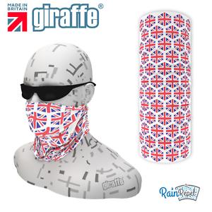 Union Jack UK Flag face protection headwear multifunctional Bandana Headband 567