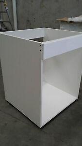 kitchen oven base cabinet flat pack kitchen cabinets 2 pack 600mm   eBay