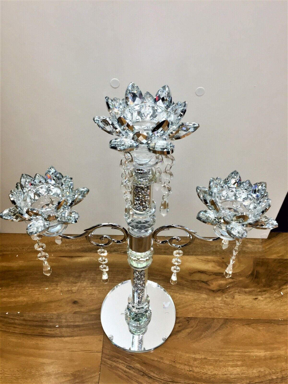 Silver écrasé diamants Sel Et Poivre Pots conteneurs Shakers Bling Romany