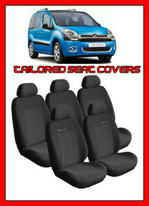 Eco-Leather Tailored Front Seat Covers CITROEN BERLINGO II  XTR 2008-2018