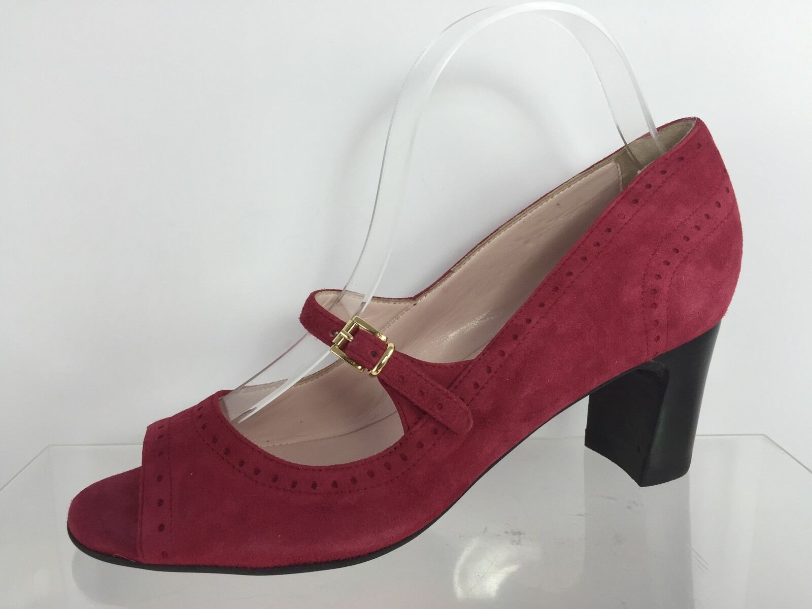 Rue Du Jour damen Magenta Magenta Magenta Leather Heels 39.5 8b9d5d