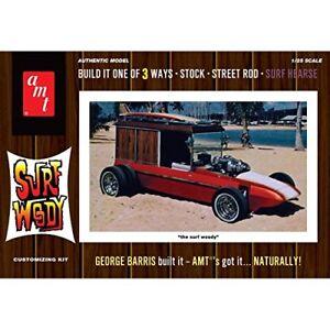 AMT977 AMT Air Fix Type Kit Plastique George Barris surf WOODY 1:25 Version couleurs