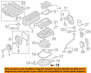 details about vw volkswagen oem 15 18 golf engine parts drain plug 06l103801 Vw 18 Engine Diagram 1 8t engine diagram all diagram