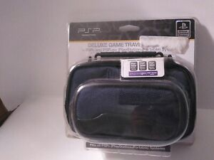 Brand-New-Official-Blue-PSP-Deluxe-Game-Traveler-PSP-Go-Systems-Carrying-Case