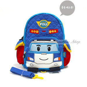 Robocar-Poli-Car-Backpack-For-1T-5T-Kids-Safety-Reins-Harness-Boy-Bag-UP-08