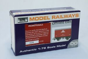 Dapol-OO-Gauge-Vent-Van-039-Bletchley-Rail-Users-Association-039-Limited-Edition