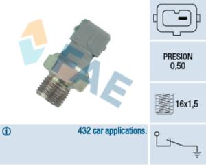 Oil Pressure Sensor Switch 12 for PEUGEOT 406 3.0 24V V6 Break 1.8 16V 1.9 D TD