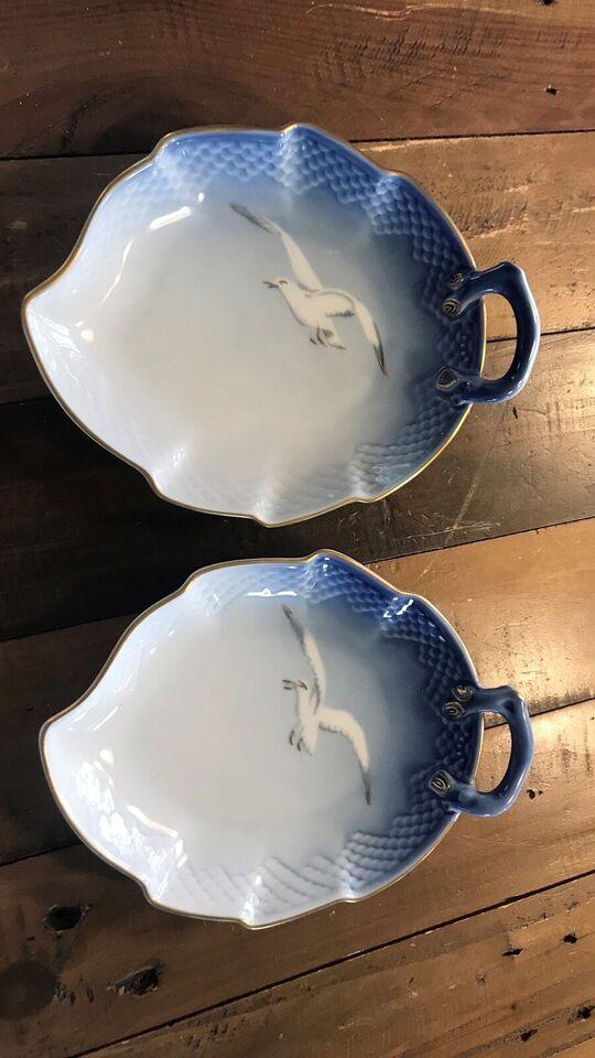 Porcelæn, Fade, Mågestellet