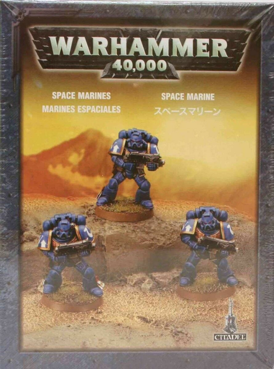 SPACE MARINES (PUSH-FIT) (PUSH-FIT) (PUSH-FIT) - WARHAMMER 40,000 40K - GAMES WORKSHOP 3e8eeb