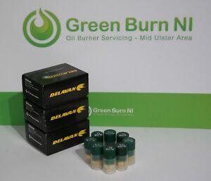 * Nouveau Delavan Oil Burner Buses Différentes Tailles 0.40 60w - 2.00 60w Ct Riello-afficher Le Titre D'origine Excellent Effet De Coussin