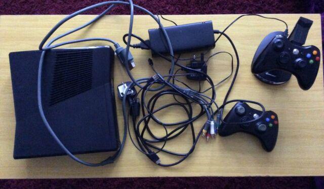 Microsoft Xbox 360 Slim 250 GB Black Console + Kinect ...