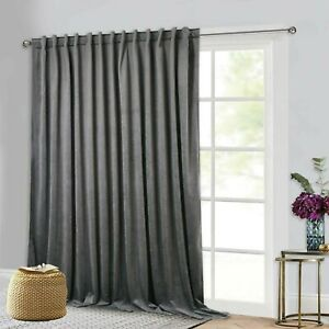 Extra Wide Long Curtains Thermal Insul
