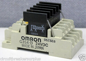 Omron G3S4D Terminal Solid State Relay eBay