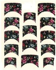 One Stroke Sticker,French,Blumig ,Tattoo, Aufkleber  Nr.1163