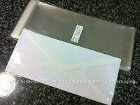 2000 Pcs 4 5/16 X 9 3/4 Clear 10 Business Envelopes Cellophane Poly Bags