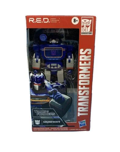 Robot Enhanced Design Transformers R.E.D. Soundwave
