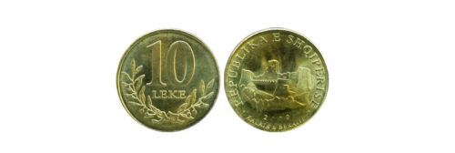 Current in Circulation ALBANIA SET COIN UNC