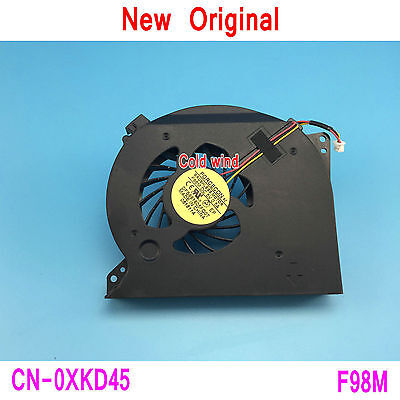 NEW DELL XPS 17 L701X L702X CPU FAN DFS661605FQ0T 4JGM7FAWI00 GB0508PHV1 XKD45