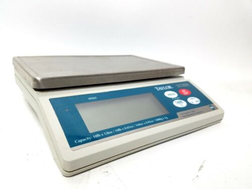 Taylor Precision Products TE10R Electronic Portion Control Scale w//Power Supply