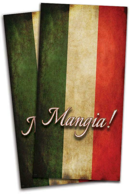 Italian Flag Cornhole Bag Toss Wrap Set