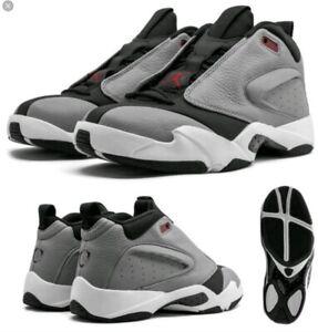 Jordan AH8109-006 Men's Gray Jumpman Quick 23 Sneakers