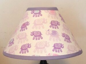 Stella Elephant Girl's Lampshade M2M Pottery Barn Kids Bedding