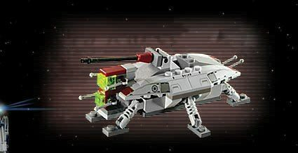 LEGO Star Wars 4495  Mini AT-TE