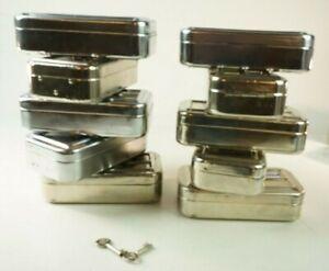 10-x-Geldbombe-Geldkassette-Metallkassette-mit-zwei-Schluesseln-Gelddose-Pro-1057