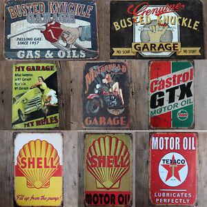 Vintage retro lattina di metallo firmata poster placca for Poster arredo casa