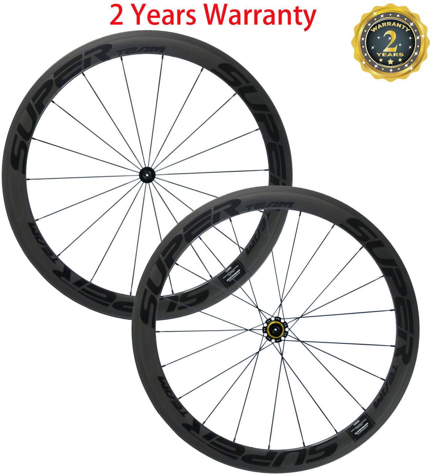 Superteam 50mm  Carbon Wheels Ceramic R7 Hub Clincher Road Bicycle Wheelset Race  novelty items