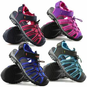 755f6b2804c5c Details about Boys Girls Kids Trespass Summer Beach Casual Walking Sports  Sandals Shoes Size