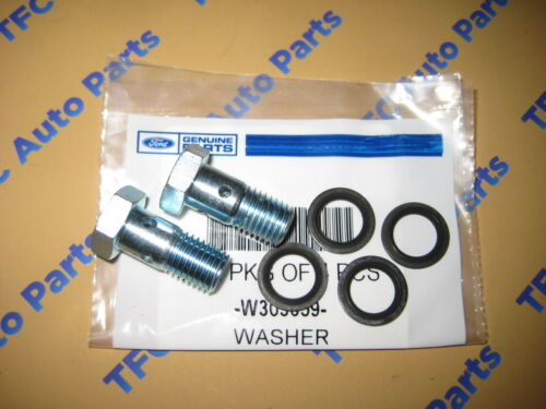 Ford 6.0L 6.4L Power Stroke Diesel Fuel Pump Pressure Bolt /& Washer Kit OEM