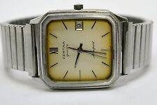 ♛♛♛ CERTINA NEWPORT Quartz Waterresistant 3 ATM Wrist Watch with Fixo Flex Band