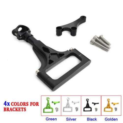 CNC New Mounting Kit Adjustable Steering Damper For Kawasaki Z750R 2011-2012