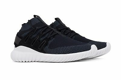 finest selection 5b198 fc0ef ADIDAS TUBULAR NOVA PRIMEKNIT BLACK GREY WHITE #S80110 SNEAKERS US SIZE 12  | eBay