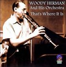 That's Where It Is by Woody Herman & His Orchestra (CD, Apr-2011, Sounds of Yesteryear)