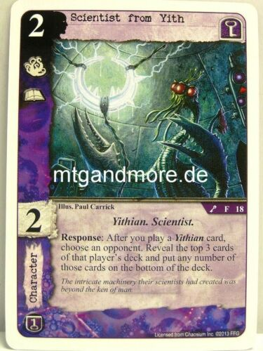 The Key and the Gate 1x Scientist from Yith  #018 Call of Cthulhu LCG
