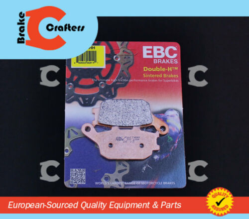 2002-2007 HONDA CB 900 F 919 REAR EBC HH RATED SINTERED BRAKE PADS /& PINS