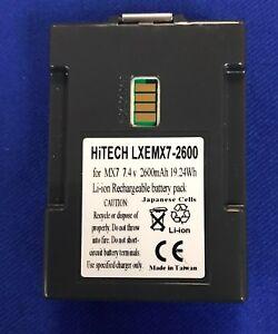 Hitech-USA-For-LXE-TECTON-MX7A380BATT-Japan-Li7-4v2-6A-Barcode-Scanner-MX7-eq